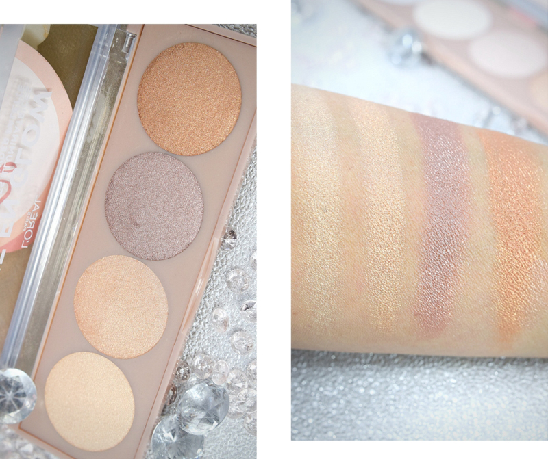 L'Oréal Paris La Vie En Glow, Highlighter Puder Palette 01, Review, Swatch