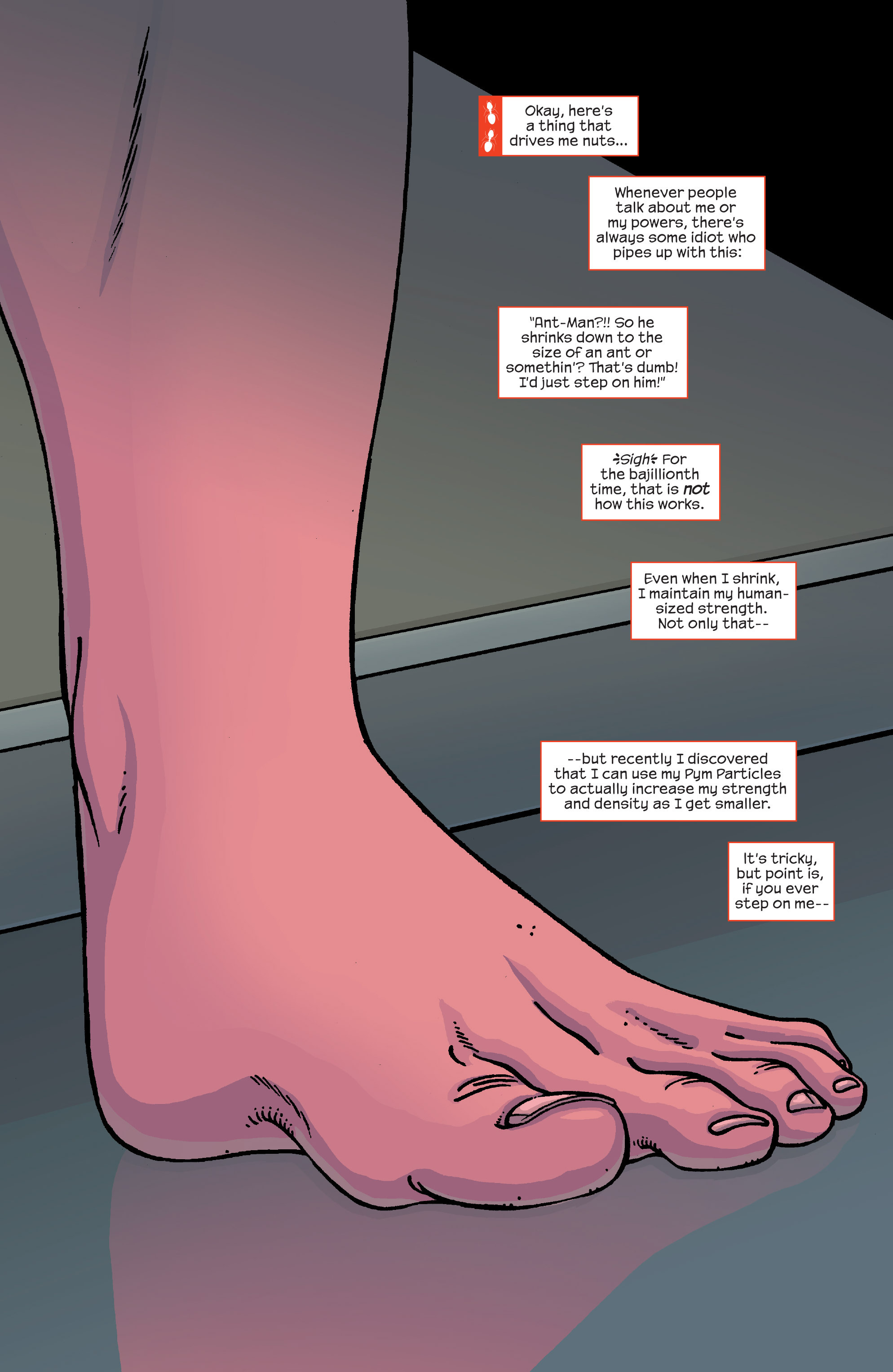 Read online Ant-Man comic -  Issue #5 - 3