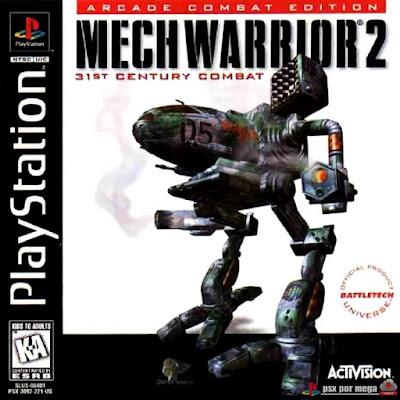 descargar mech warrior 2 psx mega