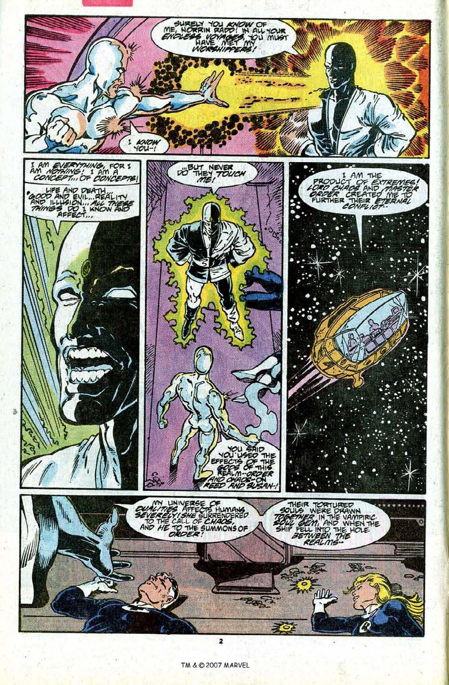 Read online Silver Surfer (1987) comic -  Issue #17 - 4