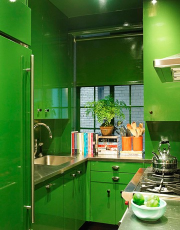 Bold Kitchen Color Ideas