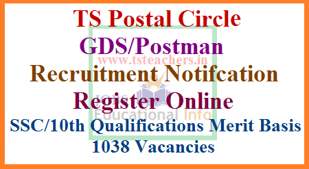 telangana-postal-circle-gds-gramin-dak-sevak-postman-recruitment-notification-register-online-appost