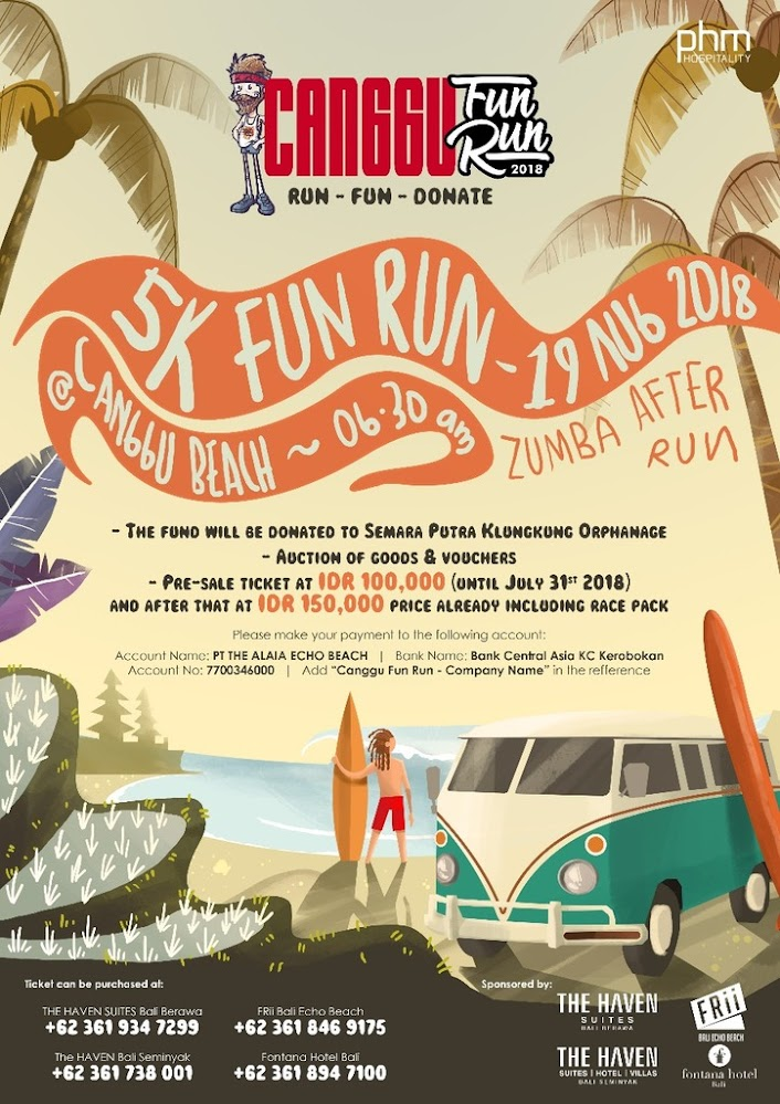 Canggu Fun Run • 2018