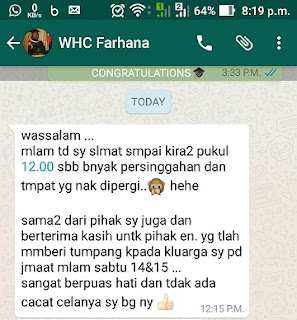 Warih-Homestay-Testimoni-Cik-Farhana