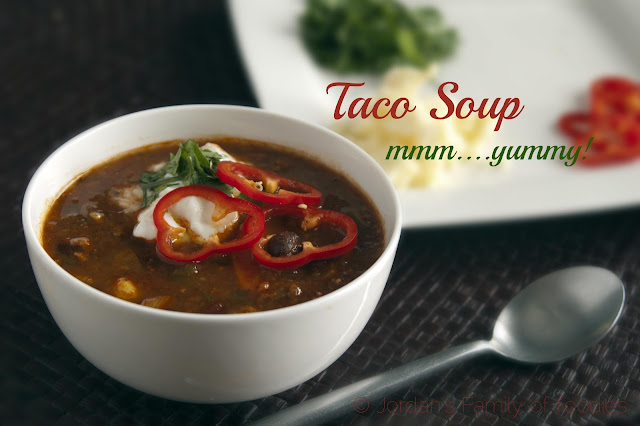 South of the Border: Taco Soup