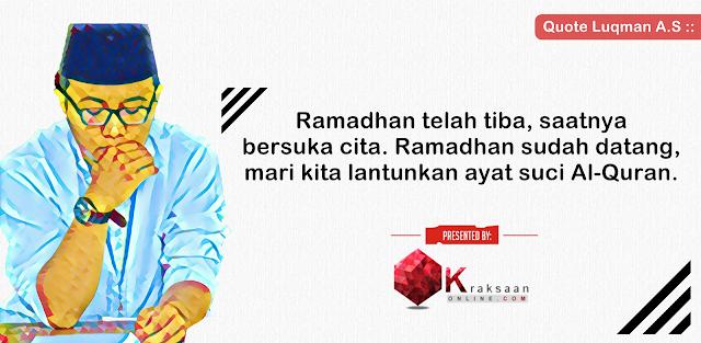 Kajian online ramadhan ustadz luqman