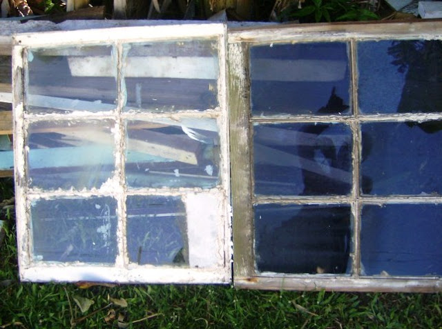 Old WINDOW GLASS Replacement