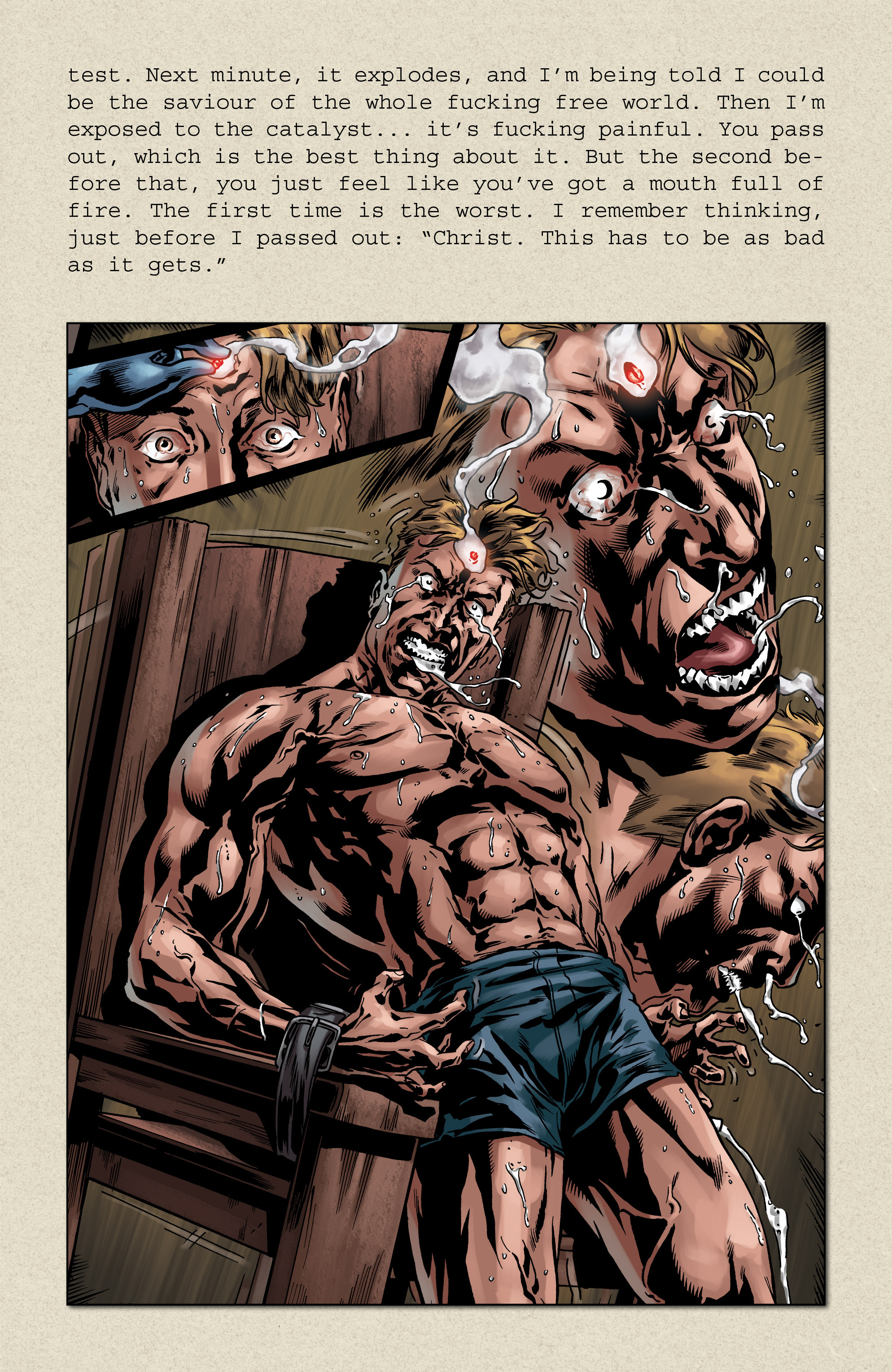 Read online Uber comic -  Issue # _FCBD - The First Cycle - 20