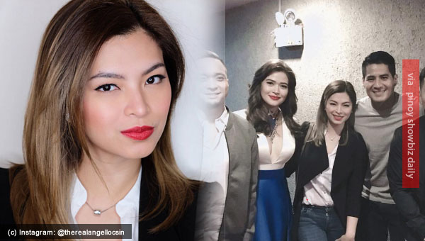 Spotted: Angel Locsin at CCP for the gala premiere of I America