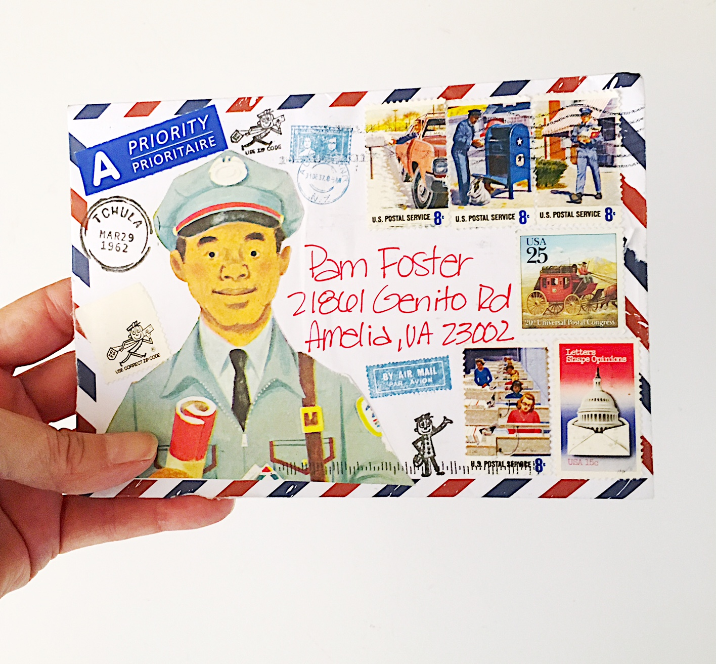 The Lost Art of Letter Writing   Revived!: This Little Mail