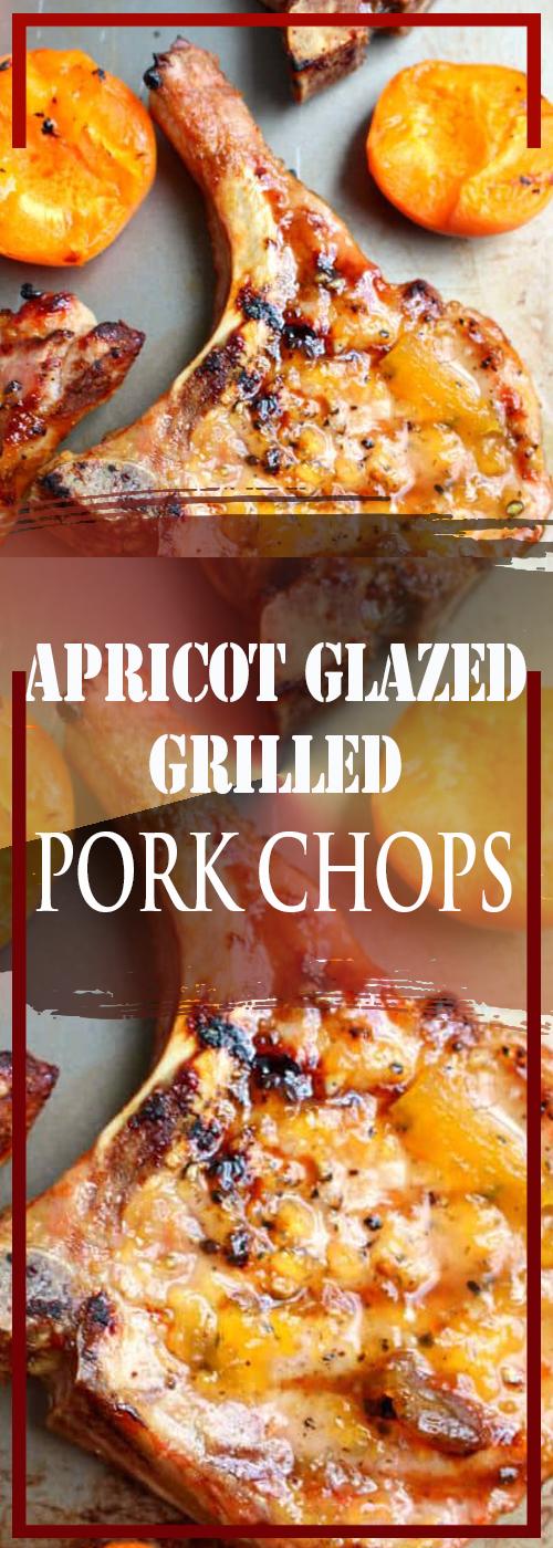 APRICOT GLAZED GRILLED PORK CHOPS RECIPE