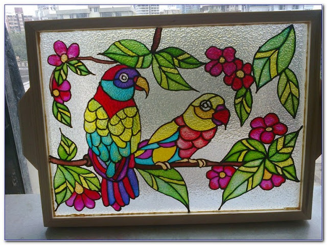How To Paint WINDOW GLASS for privacy