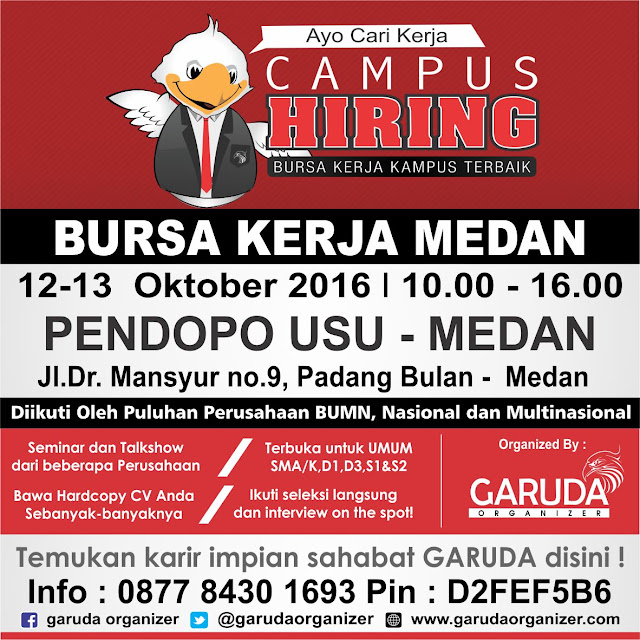 Job Fair Medan with PJK USU
