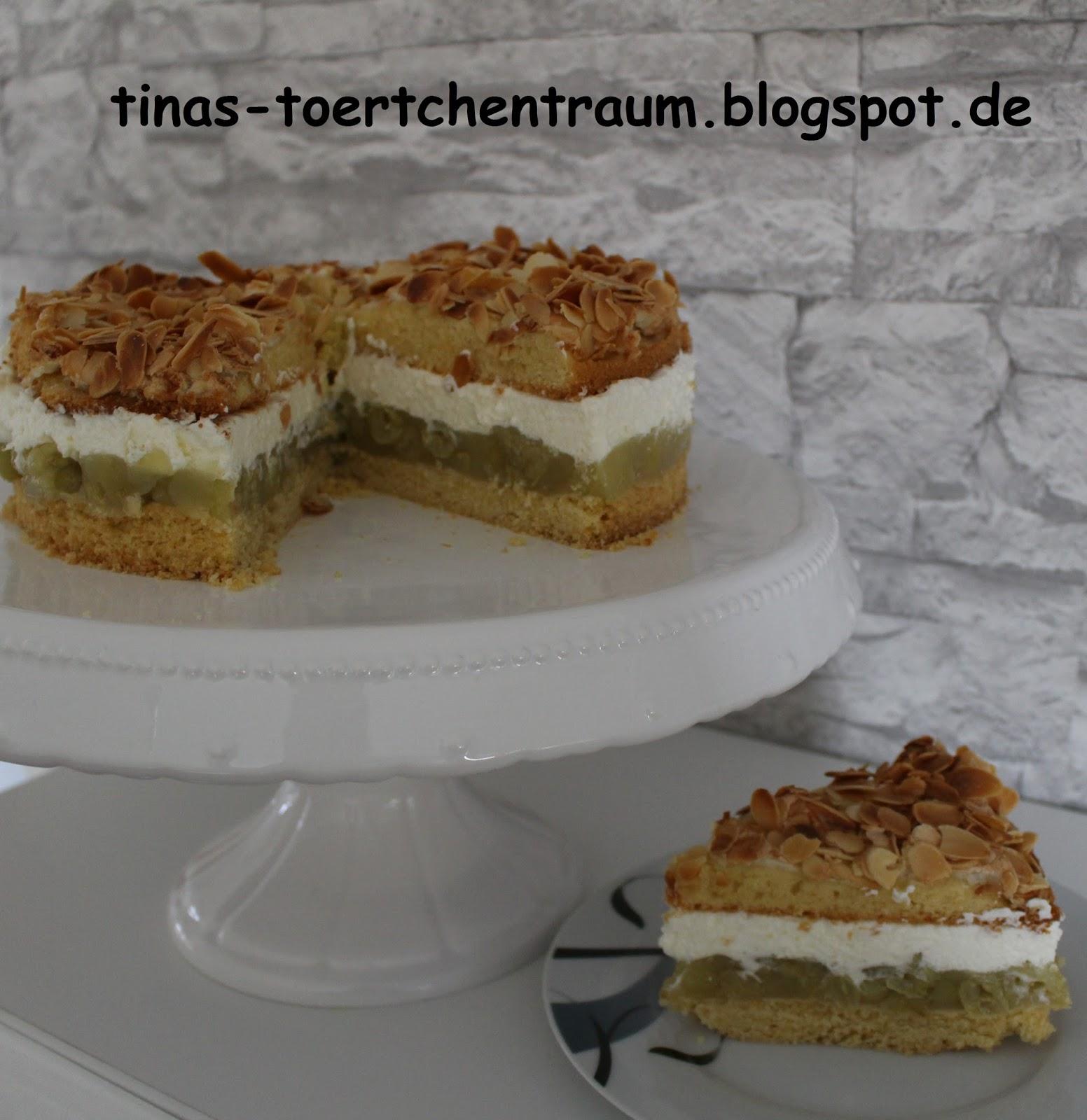 Tina S Tortchentraum Stachelbeer Baiser Torte
