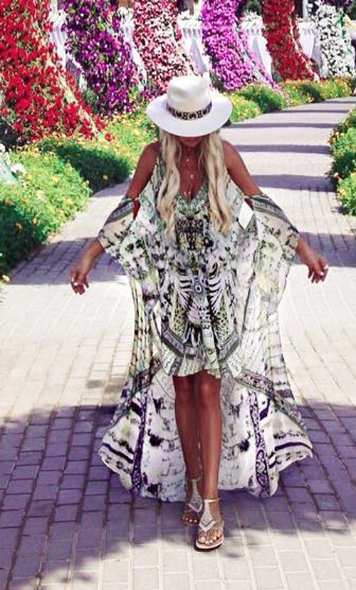 Bohemian Maxi Dresses - Best Hippie Outfits