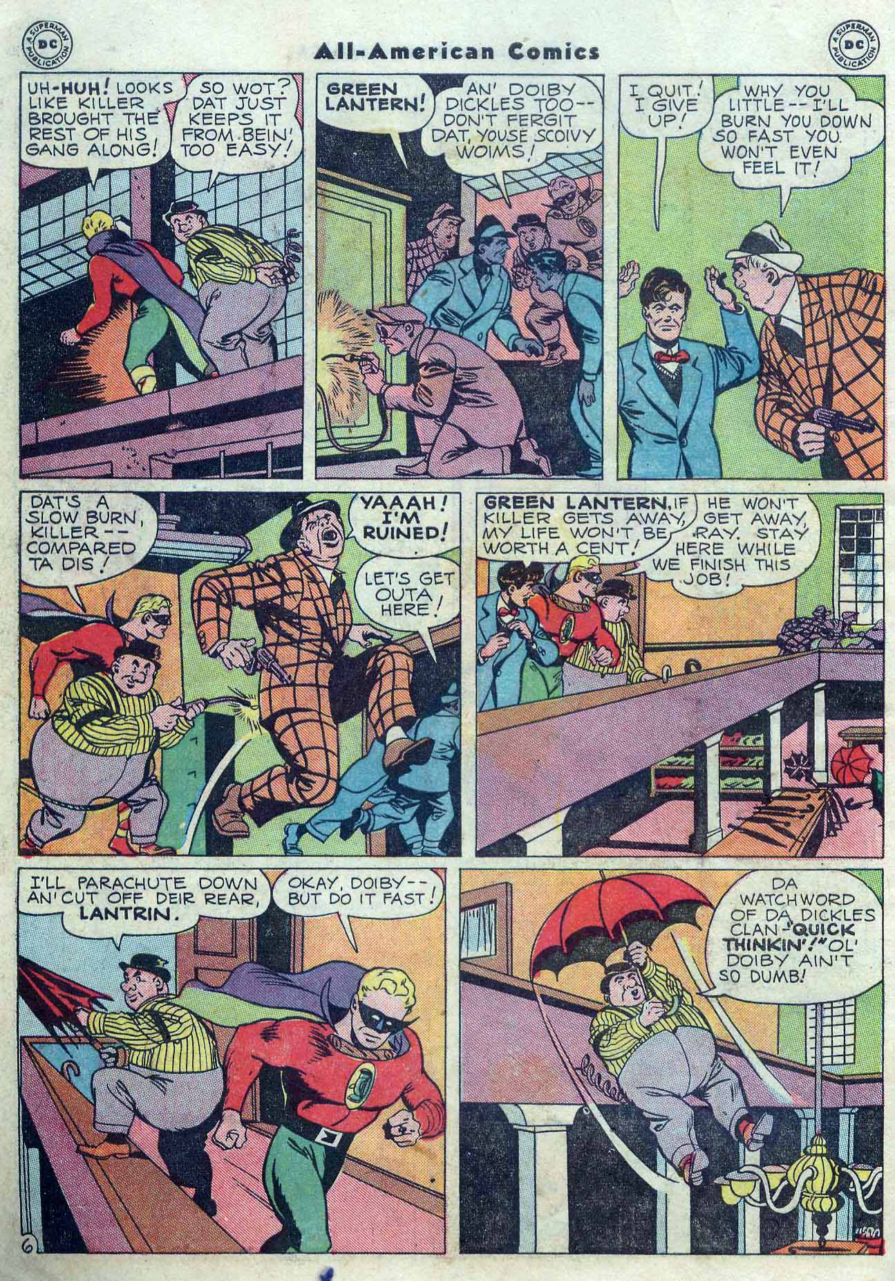 Read online All-American Comics (1939) comic -  Issue #76 - 8