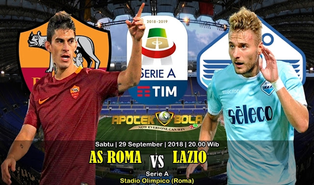 Prediksi AS Roma vs Lazio 29 September 2018