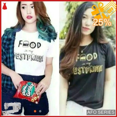 AFO714 Model Fashion Food Tee Modis Murah BMGShop