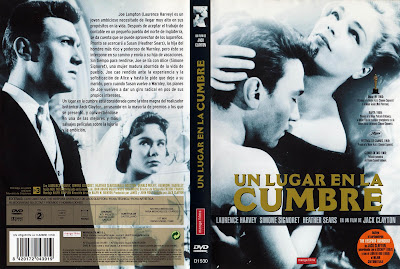 Carátula, Cover, Dvd: Un lugar en la cumbre | 1959 | Room at the Top