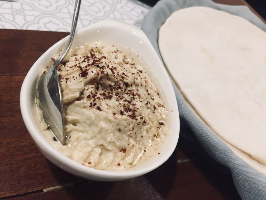 Hummus at Sultan Mediterranean Grill