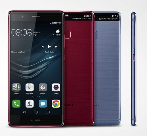 Making Heads Turn @HuaweiZA Red and Blue #HuaweiP9 #IFA2016