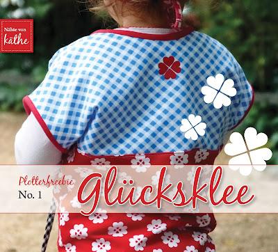Glücksklee Plotterfreebie studio3-Datei