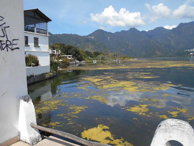 Abandoned buildings Lake Atitlan
