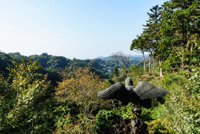半僧坊大権現・見晴らし台からの眺め~鎌倉