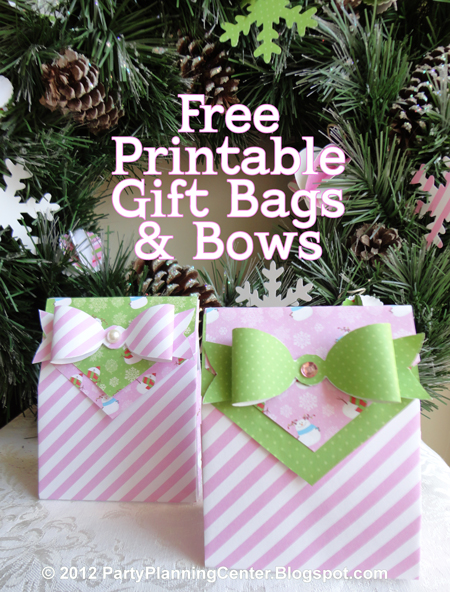 Amazing image pertaining to printable gift bags