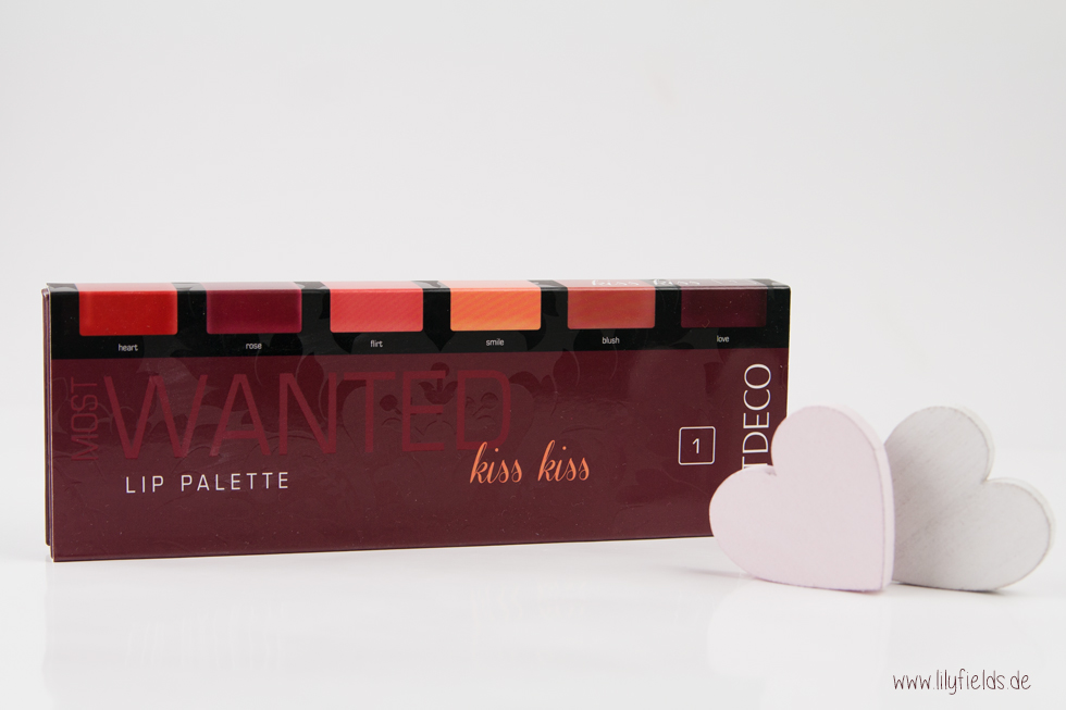 Artdeco - Most Wanted Lip Palette