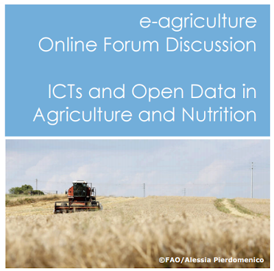 e-Forum on ICTs and Open Data in Agriculture and Nutrition