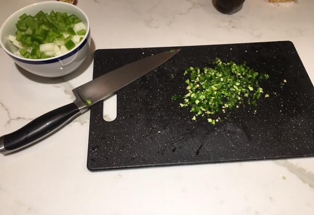 Vegetable Tortilla Stew Ingredients