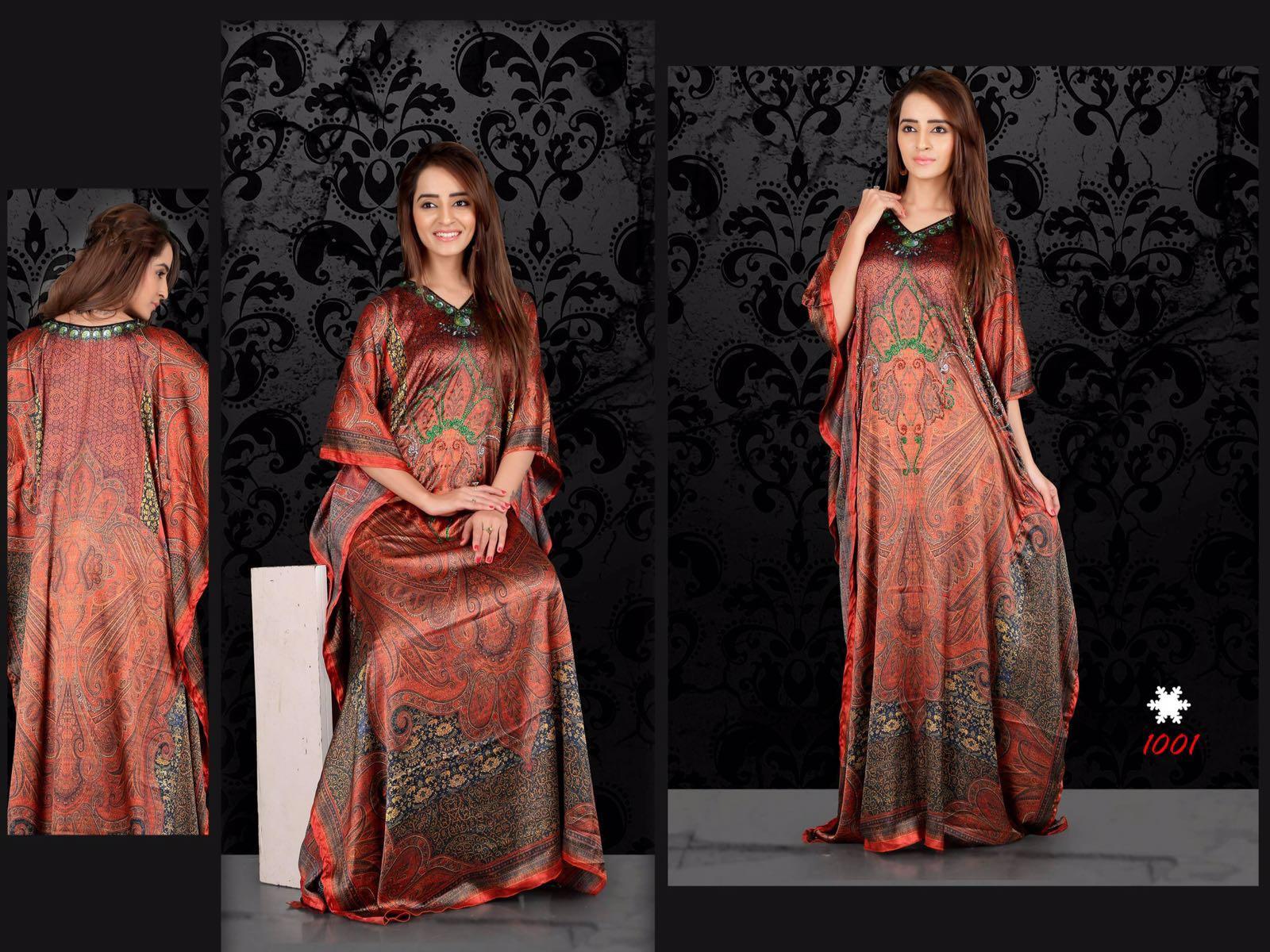 Gazal Vol 2 – Smooth Satin Kaftan  Collection