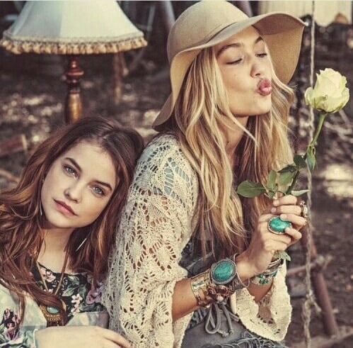 Gigi Hadid and Barbara Palvin Photoshoot Stills