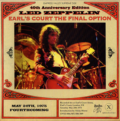 Led Zeppelin - 2016 - Earl's Court The Final Option (40th