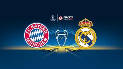 Assistir Bayern de Munique x Real Madrid ao vivo 25/04/2018
