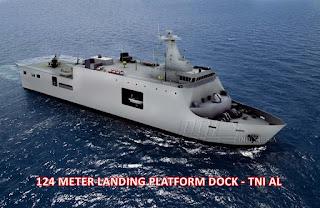 LPD 124 Meter PT PAL Pesanan TNI AL