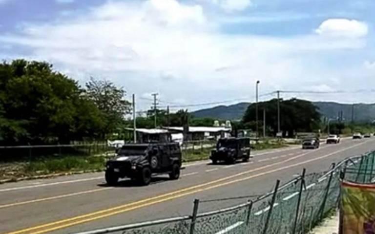 Trasladan a 17 integrantes del CJNG a penal El Amate en Chiapas