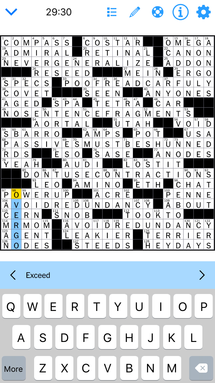 Aries animal in detail crossword