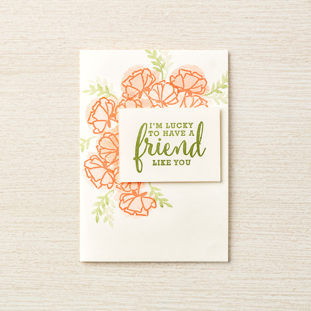 card using the getting started bundle from stampin' up!