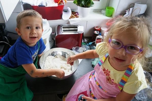 wspólne gotowanie z dzieciakami, sposób na niejadków