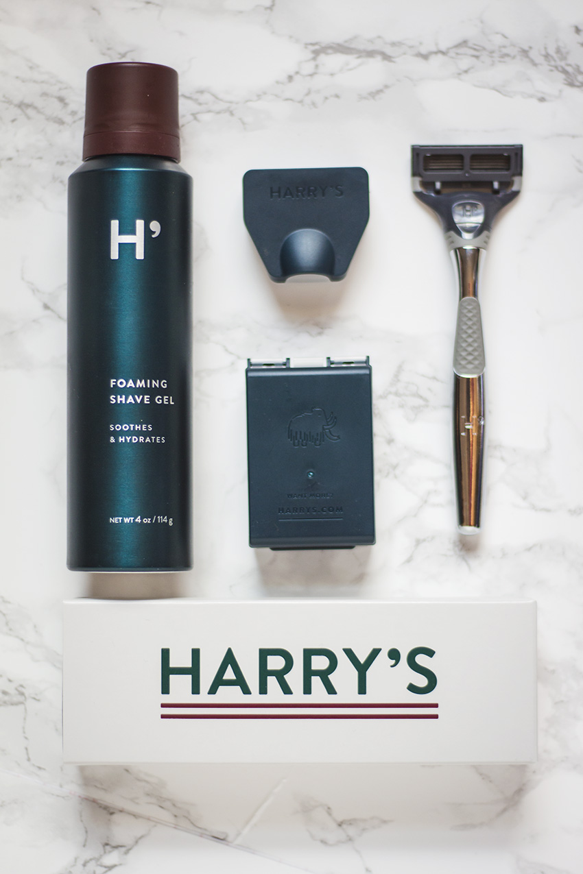 Harry's razors review and thoughts on the Winston set
