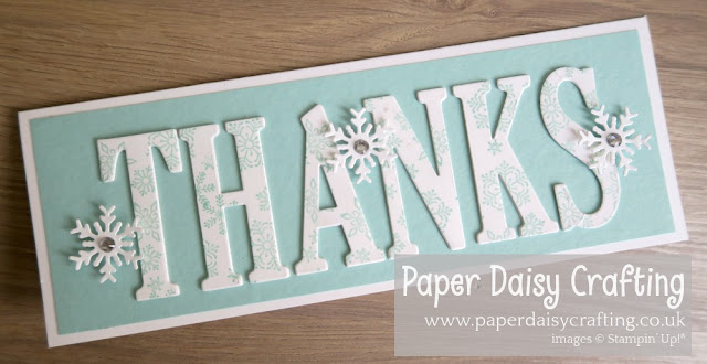 Beautiful Blizzard and Blizzard Thinlits Die Stampin up
