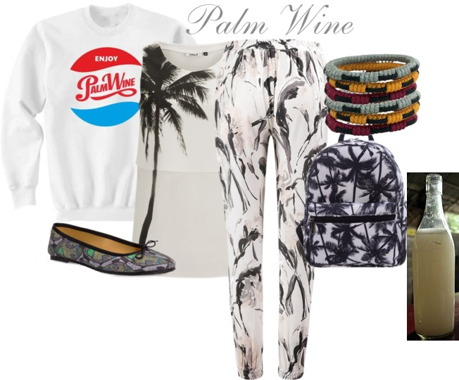 Dress like your fave drink (palm wine)
