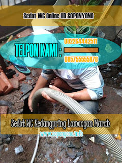 SEDOT WC KEDUNGPRING LAMONGAN