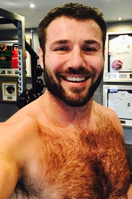 Very hairy gay men