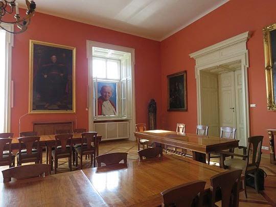 Aula i Okno Papieskie.