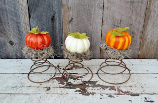 Needles-n-Pins Stitcheries: Repurposed Pumpkins