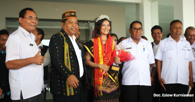 Manggarai Timur Terima Putri Pariwisata NTT 2017