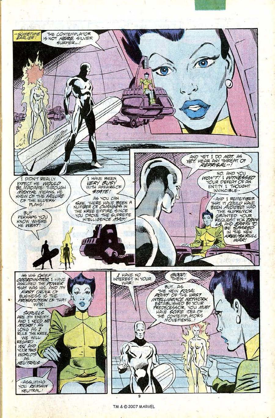 Read online Silver Surfer (1987) comic -  Issue #11 - 11